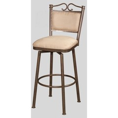 Buy Chintaly Imports 30 Inch Bar Stool w/ Cushioned Back and Memory Swivel on sale online