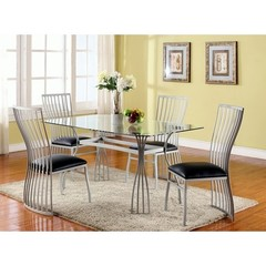 Buy Chintaly Imports Aileen 5 Piece 60x36 Dining Table Set on sale online