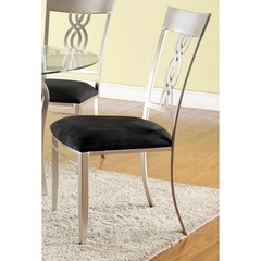 Buy Chintaly Imports Angelina Braided Back Side Chair on sale online
