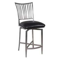 Buy Ashtyn Counter Stool w/ Memory Return Swivel on sale online