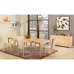 Buy Chintaly Imports Caroline 5 Piece Dining Room Set in Natural on sale online