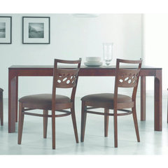 Buy Chintaly Imports Dara Rectangular 71x36 Dining Table in Walnut on sale online