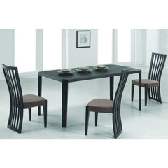 Buy Chintaly Imports Debbie 5 Piece Dining Room Set in Black on sale online