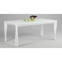 Buy Chintaly Imports Hana 71x35 Contemporary Parson Dining Table on sale online
