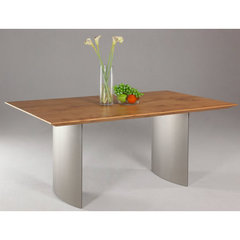 Buy Chintaly Imports Jessica 71x40 Dining Table in Oak on sale online