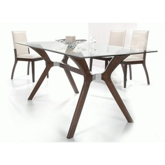 Buy Chintaly Imports Luisa 5 Piece 60x36 Rectangular Dining Table Set on sale online