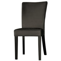 Buy Chintaly Imports Monica Modern Parson Side Chair in Black on sale online