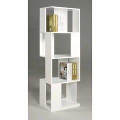 Buy Chintaly Imports Selina 65 Inch Modern Book Shelf in White on sale online