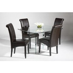 Buy Chintaly Imports V Base 5 Piece 60x30 Rectangular Dining Table Set on sale online