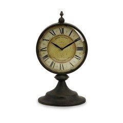 Buy IMAX Worldwide Christopher Round Metal Clock on sale online