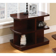 Buy Steve Silver Citadel 27x24 End Table in Cherry on sale online