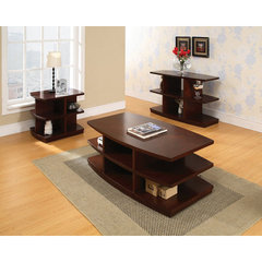 Buy Steve Silver Citadel 3 Piece Occasional Table Set in Cherry on sale online
