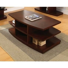 Buy Steve Silver Citadel 52x28 Cocktail Table in Cherry on sale online