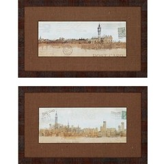 Buy Paragon Cities 29x17 Framed Wall Art (Set of 2) on sale online