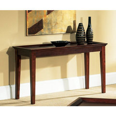 Buy Steve Silver Clemens 48x18 Sofa Table in Rich Cherry on sale online