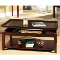 Buy Steve Silver Clemens 48x26 Lift Top Cocktail Table in Rich Cherry on sale online