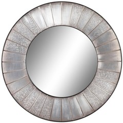 Buy Cooper Classics Clifton Mirror in Silver on sale online