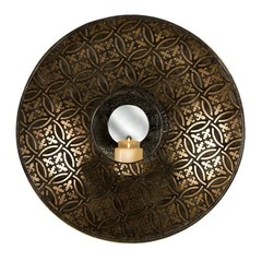 Buy IMAX Worldwide Cocobolo Mirrored Wall Sconce on sale online