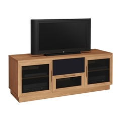 Buy Furnitech Contemporary 60 inch Media Console in Natural Cherry on sale online