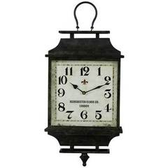 Buy Cooper Classics 26x12 Kimmel Clock in Black and Autumn Rust on sale online