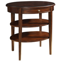 Buy Cooper Classics Millie 26x18 Side Table in Cherry on sale online