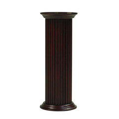 Buy Cooper Classics Round Pedestal in Cherry on sale online