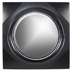 Buy Cooper Classics Spruce 38 Inch Round Mirror in Black on sale online
