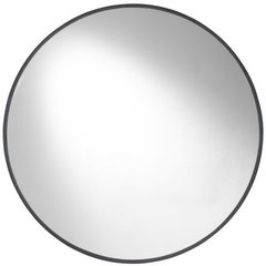 Buy Cooper Classics Cordova 34 Inch Round Mirror in Mocha on sale online