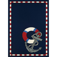 Buy Couristan Outdoor Escape Area Rug in Navy on sale online