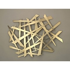 Buy NOVA Lighting Criss Cross Wall Art on sale online