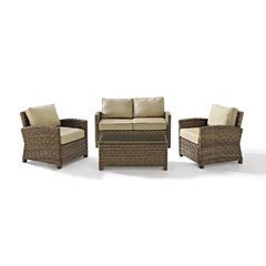 Buy Crosley Furniture Bradenton 4 Piece Seating Set w/ 2 Tables on sale online