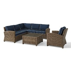 Buy Crosley Furniture Bradenton 5 Piece Seating Set w/ 2 Loveseats on sale online