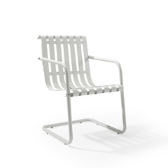 Buy Crosley Furniture Gracie Retro Spring Chair in Alabaster White on sale online