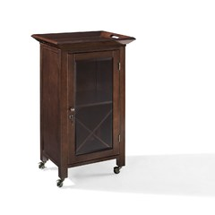 Buy Crosley Furniture Jefferson Portable Bar in Mahogany on sale online