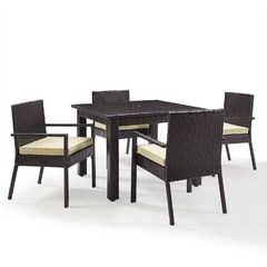 Buy Crosley Furniture Palm Harbor 5 Piece 42x42 Square Dining Set on sale online