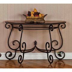 Buy Steve Silver Crowley 48x20 Sofa Table in Cherry on sale online