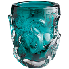 Buy Cyan Design Chagall Vase in Blue on sale online
