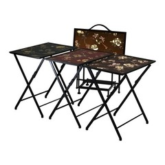 Buy Cyan Design 12.5 Inch Square Alberta Folding Tables (Set of 5) on sale online