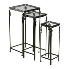 Buy Cyan Design 14x13 Inch Dupont Nesting Tables (Set of 3) on sale online