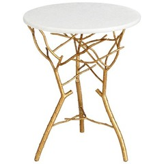 Buy Cyan Design 19 Inch Round Langley Accent Table on sale online