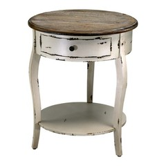 Buy Cyan Design 20 Inch Round Abelard Side Table on sale online