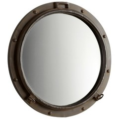 Buy Cyan Design 23 Inch Round Porto Mirror on sale online