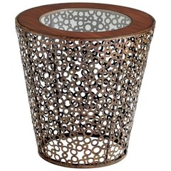 Buy Cyan Design 23 Inch Round Alicia Accent Side Table on sale online