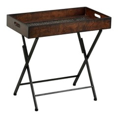 Buy Cyan Design 24.5x13 Inch Heritage Tray Stand Accent Table on sale online