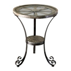 Buy Cyan Design 24 Inch Round Carson Designer Accent Table on sale online