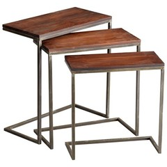 Buy Cyan Design 28x14 Inch Jules Nesting Tables (Set of 3) on sale online