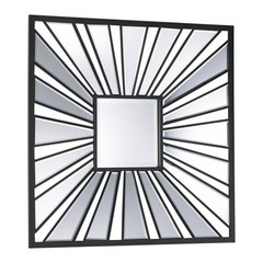 Buy Cyan Design 30 Inch Square Segment Square Mirror in Black on sale online