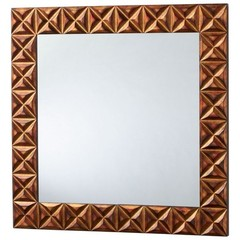 Buy Cyan Design 31 Inch Square Logan Mirror in Gold on sale online