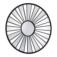 Buy Cyan Design 32 Inch Round Segment Round Mirror in Black on sale online