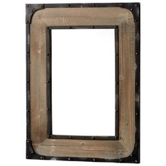 Buy Cyan Design 34x26 Adler Mirror in Brown and Medium Wood on sale online